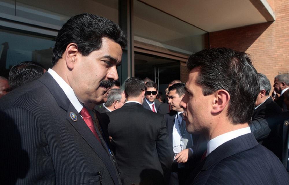 SE TENSAN RELACIONES DIPLOMÁTICAS ENTRE MÉXICO Y VENEZUELA
