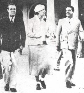 Victoria Ocampo y Jorge Luis Borges