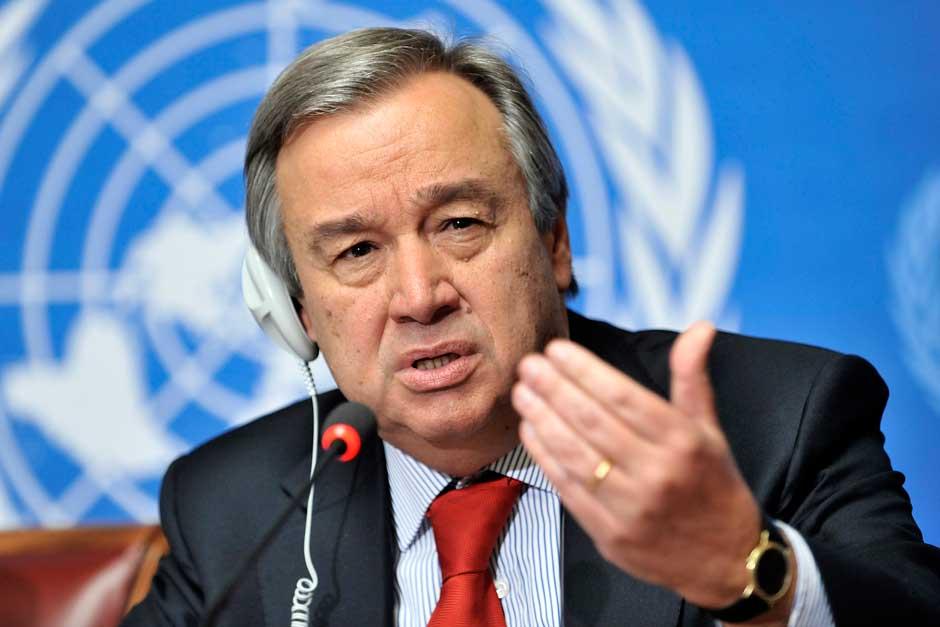 ONU ( le Vatican, et autres ... ) Antonio-Guterres