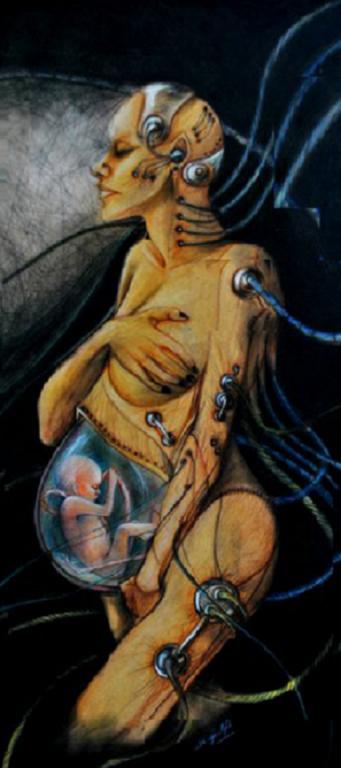 Mis pinturas son parte de mi alma abiga l p rez origen - Donde estudiar pintura ...