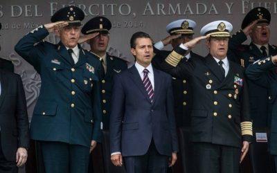 PEÑA REFUTA A WOLA SOBRE ABUSO MILITAR, RETA A EU A INDAGAR TRÁFICO DE ARMAS