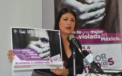 ÍNDICE DE VIOLENCIA FEMINICIDA OBLIGA A ARRANCAR CAMPAÑA ES POR TOD@S