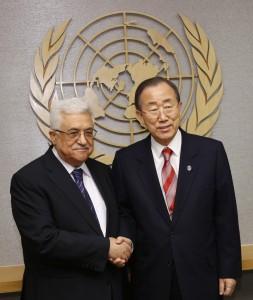 Abu Mazen y Ban Ki-moon