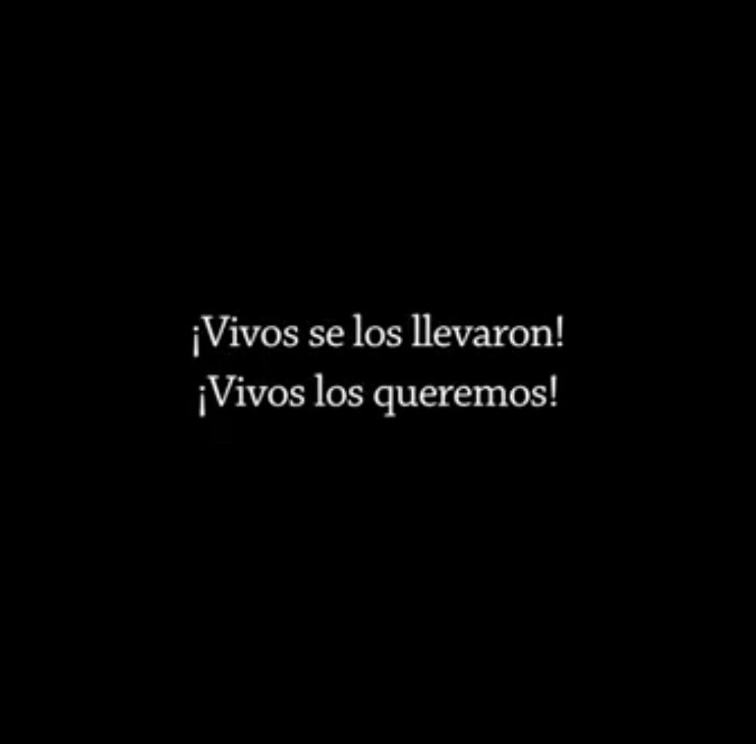 VIDEO – «No me olvides, porque si me olvidas ellos ganan» #AyotzinapaSomosTodxs