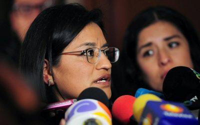 ELIMINAR FIGURA DEL FUERO PARA ACABAR CON PRIVILEGIOS E IMPUNIDAD: ALEIDA ALAVEZ