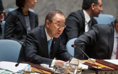 ONU URGE ISRAEL Y PALESTINA A RETOMAR LAS NEGOCIACIONES