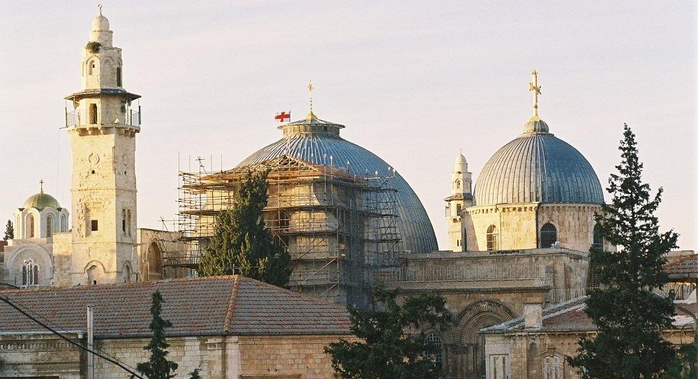 Iglesia de Santo Sepulcro Ciudad antigua de Jerusalén