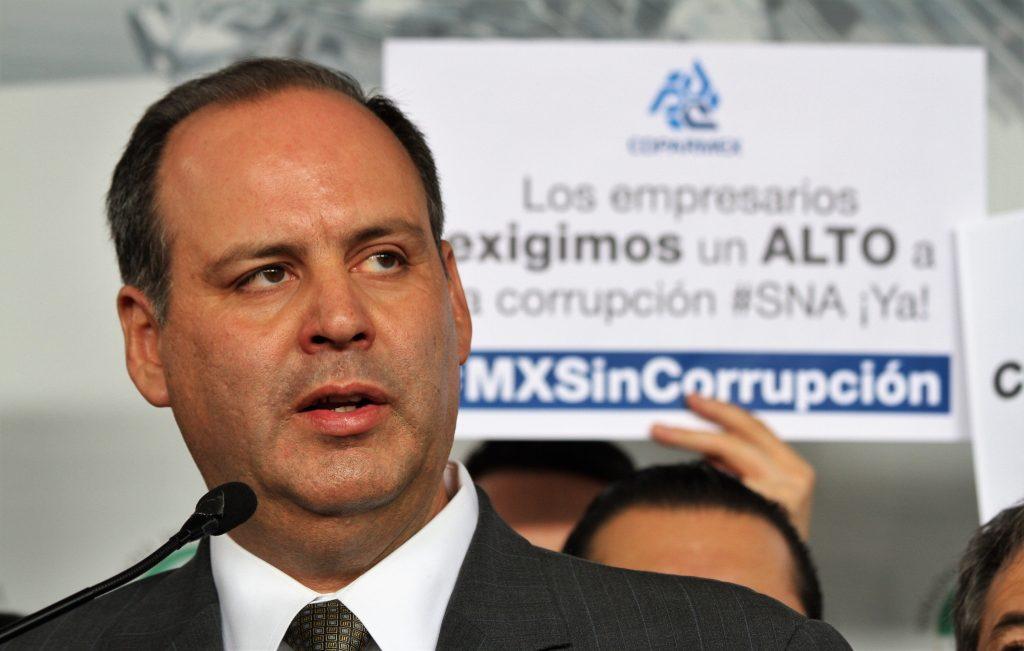 URGE COPARMEX A LEGISLADORES A COMPLETAR EL SISTEMA ANTICORRUPCIÓN