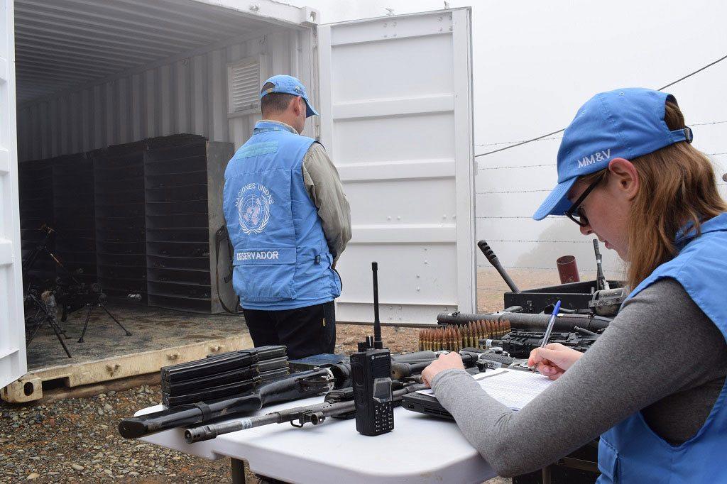 ATACAN A EQUIPO DE LA MISIÓN DE LA ONU EN COLOMBIA