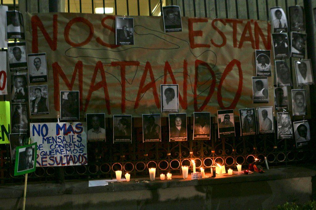 CIDH CONDENÓ VIOLENCIA CONTRA PERIODISTAS EN MÉXICO