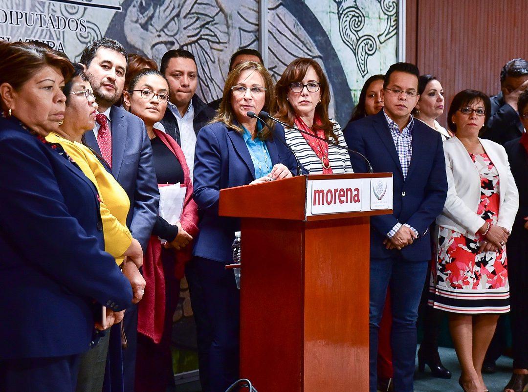 MORENA FIRMARÁ INCONSTITUCIONALIDAD DE LA LEY DE SEGURIDAD INTERIOR