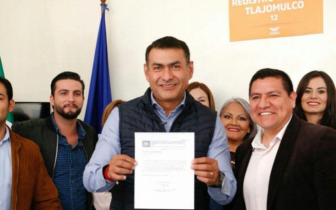 SALVADOR ZAMORA BUSCA CANDIDATURA A PRESIDENCIA DE TLAJOMULCO