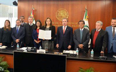 ENTREGAN LISTA DE OCHO PRESELECCIONADOS PARA LA FEPADE