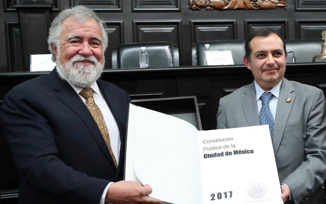 CONSTITUCIÓN DE CDMX, REFLEJO DE LA PLURALIDAD DEMOCRÁTICA: CORDERO