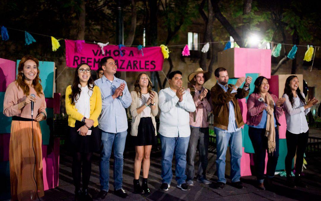 VAMOS A REEMPLAZARLES LOGRA FIRMAS PARA INDEPENDIENTES AL CONGRESO