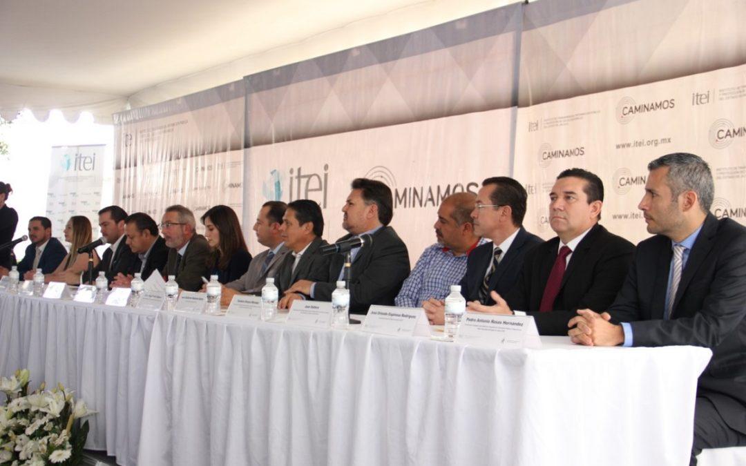 ANTE EL ITEI PARTIDOS POLÍTICOS SE COMPROMETEN CON LA TRANSPARENCIA