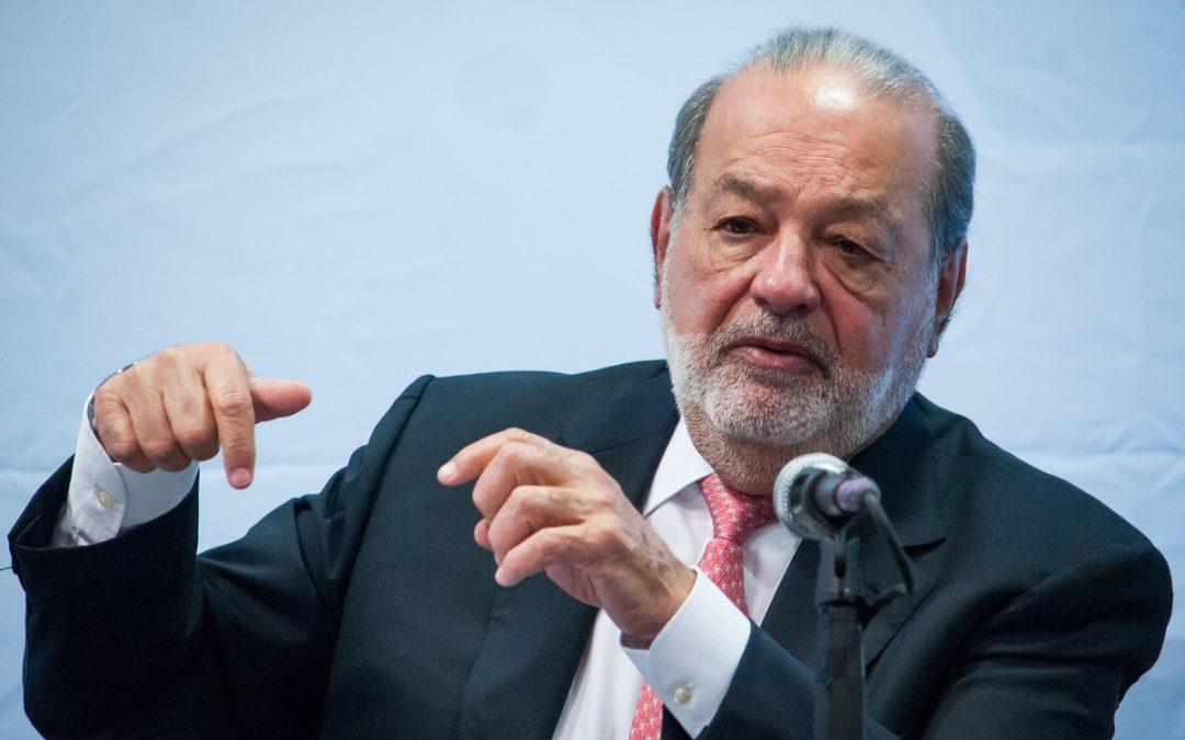 SLIM DONA MIL MILLONES DE PESOS POR EMERGENCIA DE COVID-19