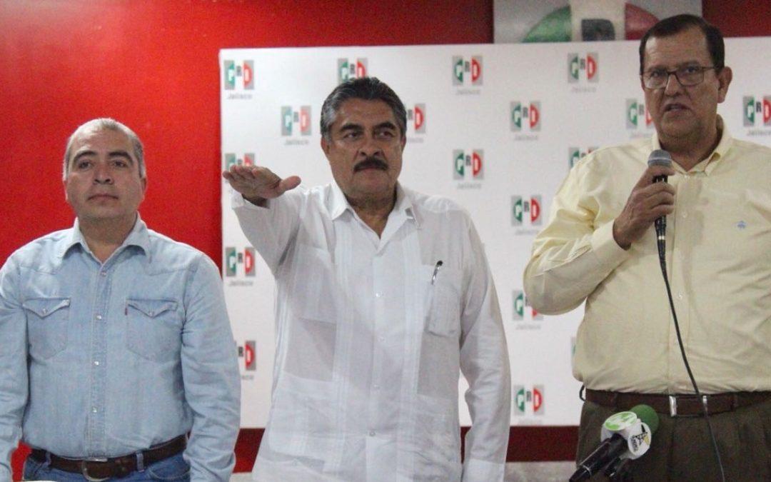 DIMITE PIZANO A PRESIDENCIA DEL PRI JALISCO, LLEGA RAMIRO HERNÁNDEZ