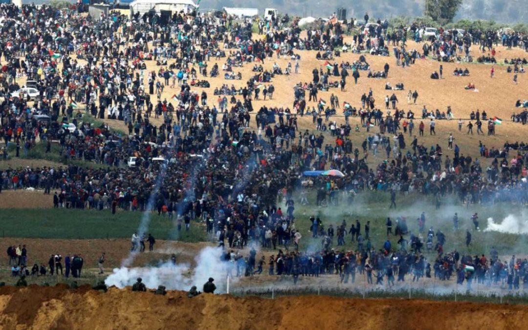 TRASLADO DE EMBAJADA DE EU A JERUSALÉN PROVOCA MÁS DE 58 MUERTOS
