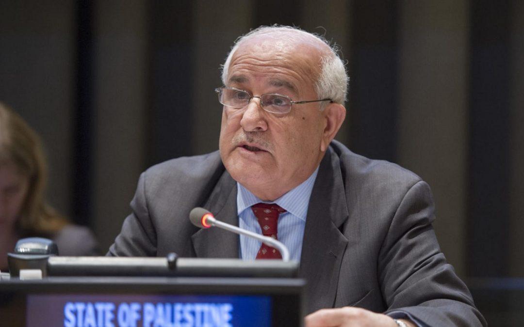 PALESTINA PIDE PROTECCIÓN INTERNACIONAL ANTE LA MASACRE EN GAZA
