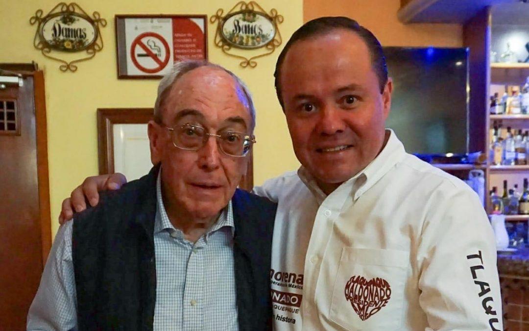 ALBERTO MALDONADO SUMA AL PROYECTO TLAQUEPAQUE A ESTEBAN GARAIZ