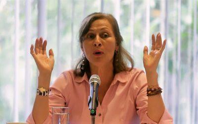 DETRÁS DE AMLO HAY UN PROYECTO SÓLIDO DE NACIÓN: TATIANA CLOUTHIER