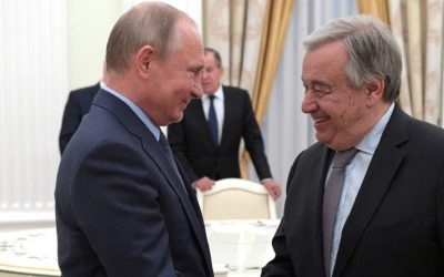 RUSIA Y ONU DEBEN TRABAJAR PARA REFORZAR INSTITUCIONES INTERNACIONALES
