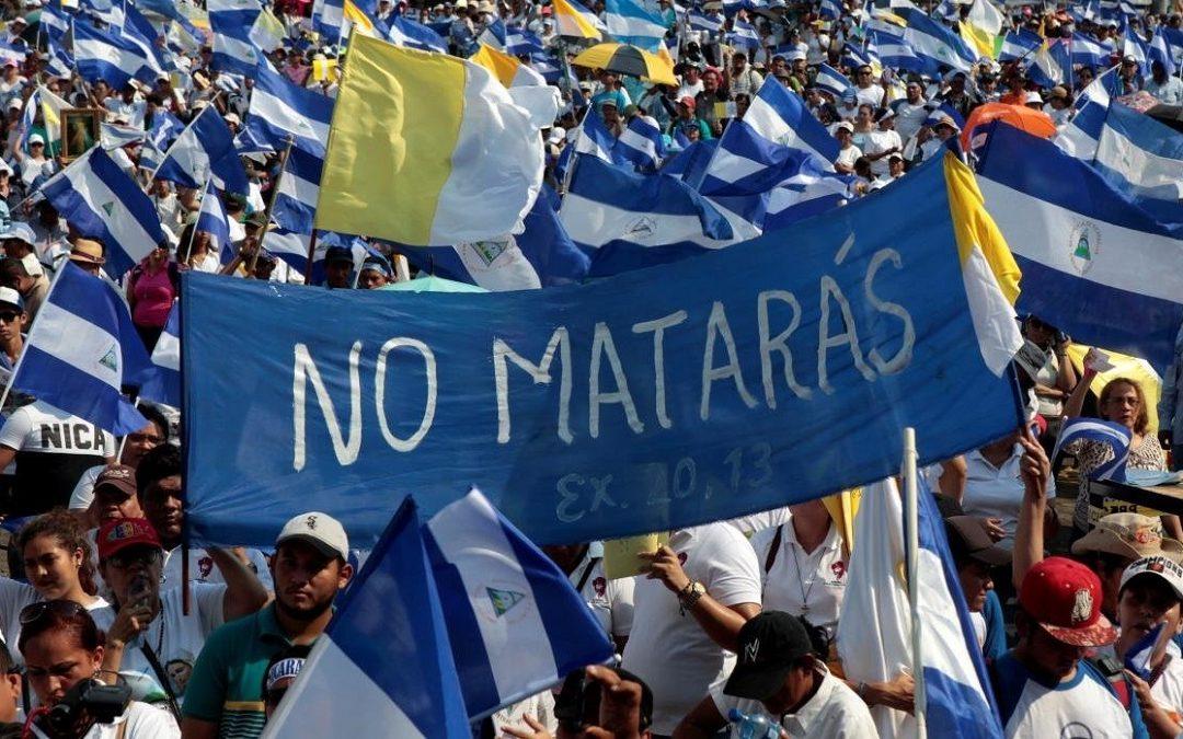 PREOCUPA A CIDH CRIMINALIZACIÓN DE  LAS PROTESTAS EN NICARAGUA