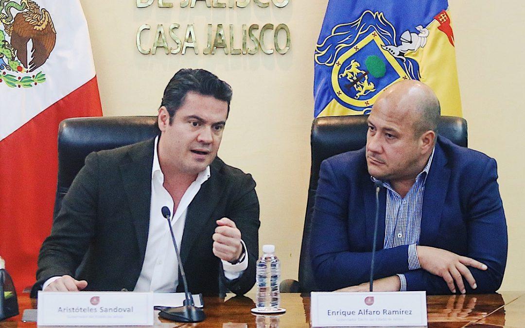 ALFARO Y ARISTÓTELES ARRANCAN PROCESO DE TRANSICIÓN DEL GOBIERNO