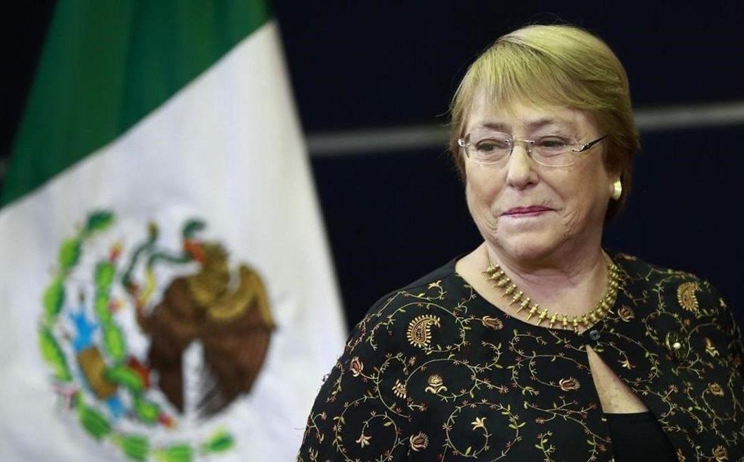 URGE FRENAR FEMINICIDIOS EN MÉXICO: MICHEL BACHELET