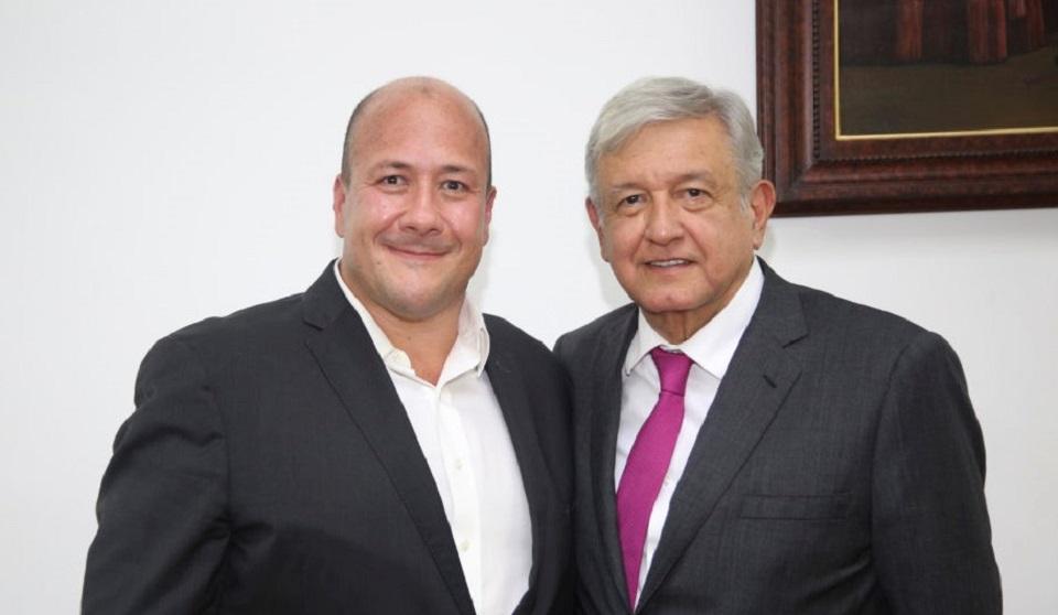 ALFARO Y SU PRIMER CONTACTO CON AMLO EN REUNIÓN CON GOBERNADORES