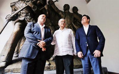 DESTACA ALFARO COINCIDENCIAS CON AMLO EN PROYECTOS POR JALISCO