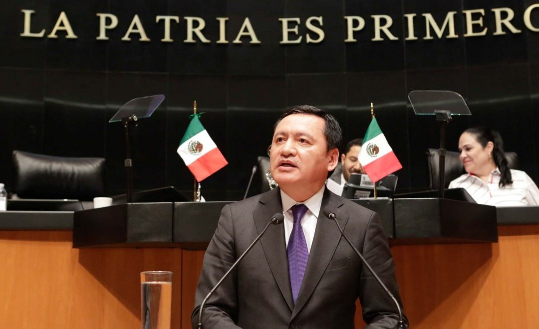 LOS SENADORES TIENEN DERECHO A TENER ALIMENTOS: OSORIO CHONG