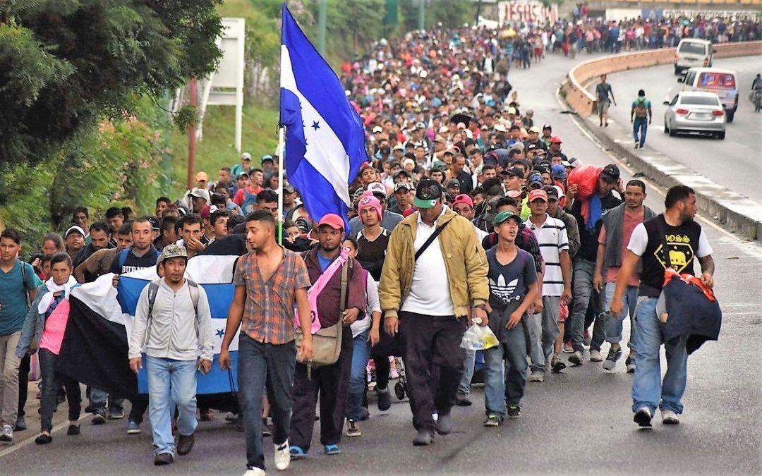 MÉXICO REGISTRA 3 MIL SOLICITUDES DE REFUGIO DE CARAVANA MIGRANTE