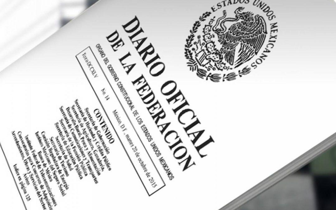 DIARIO OFICIAL DE LA FEDERACIÓN SE DEJARÁ DE IMPRIMIR