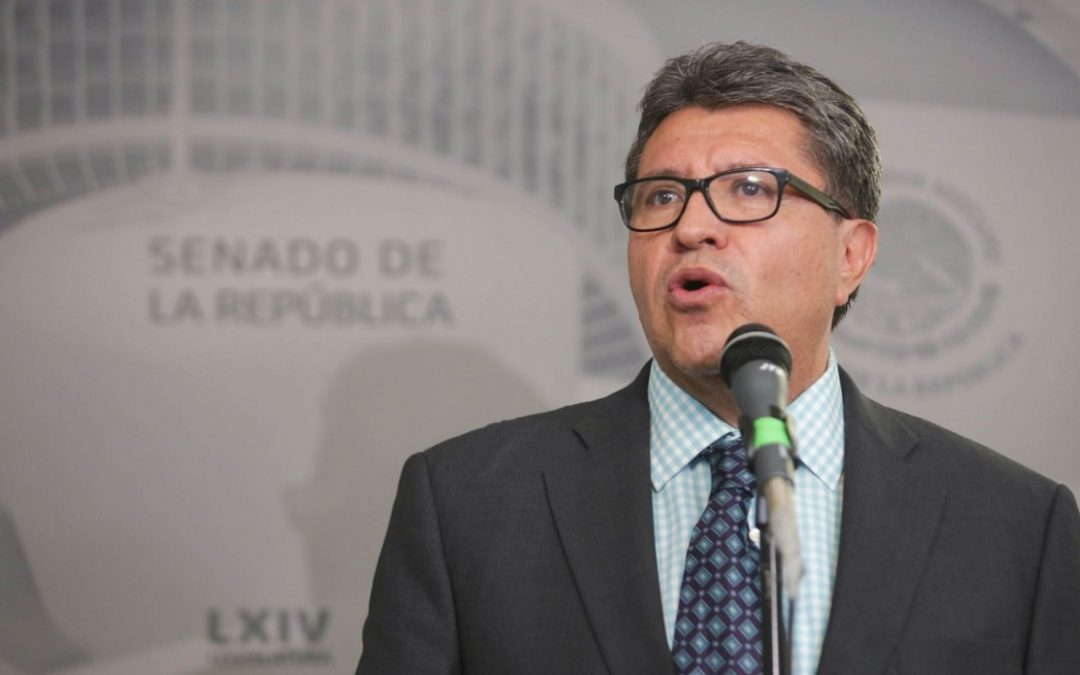 MONREAL PIDIÓ CALMA A BMV POR INICIATIVA POR COMISIONES BANCARIAS