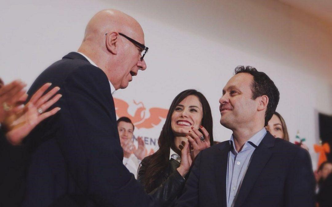 CLEMENTE CASTAÑEDA RELEVA A DANTE DELGADO DE DIRIGENCIA DE MC