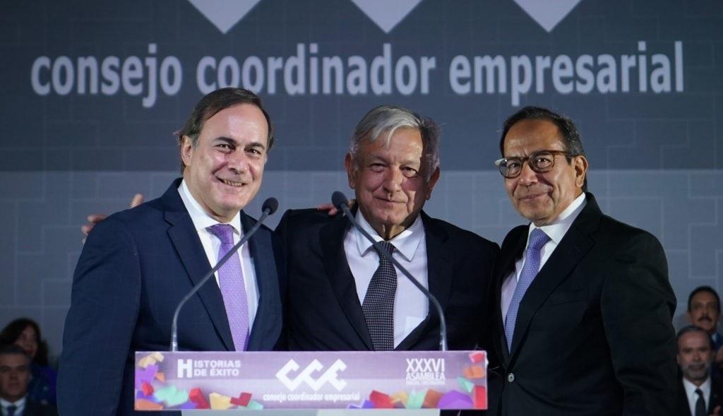 AMLO CONVOCA AL CCE A ACABAR CON LA CORRUPCIÓN