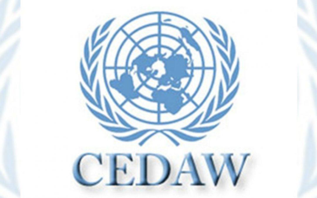 SE CONGRATULAN POR INSTALACIÓN DE MECANISMO DE LA CEDAW