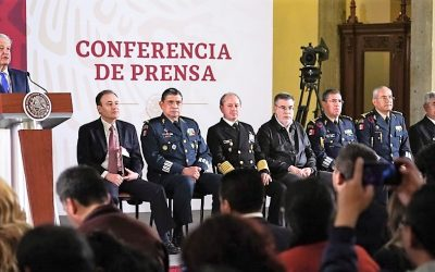 LUIS RODRÍGUEZ BUCIO, COMANDANTE DE LA GUARDIA NACIONAL: AMLO