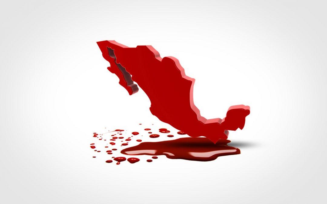 MÉXICO CON ÍNDICE DE HOMICIDIOS MÁS ALTO QUE SIRIA O PALESTINA