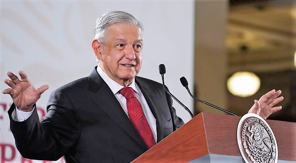 POR PROTESTAS DE FEDERALES EL GOBIERNO  NO ACEPTARÁ CHANTAJES: AMLO