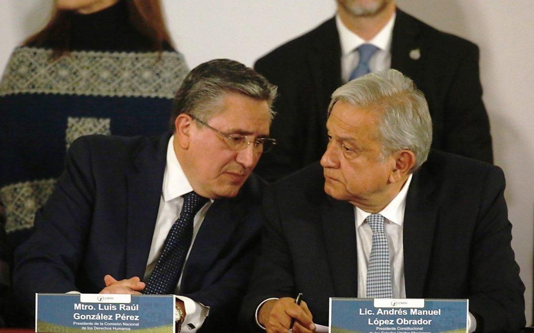 VILLAVICENCIO PIDE AL PRESIDENTE RESPETAR LA RELACIÓN CON LA CNDH