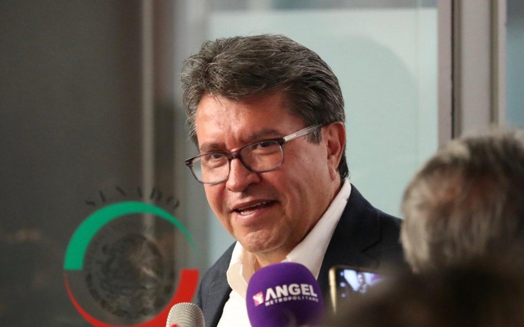 MONREAL AL PAN: SENADO NO ES INSTRUMENTO DE GOLPETEO POLÍTICO