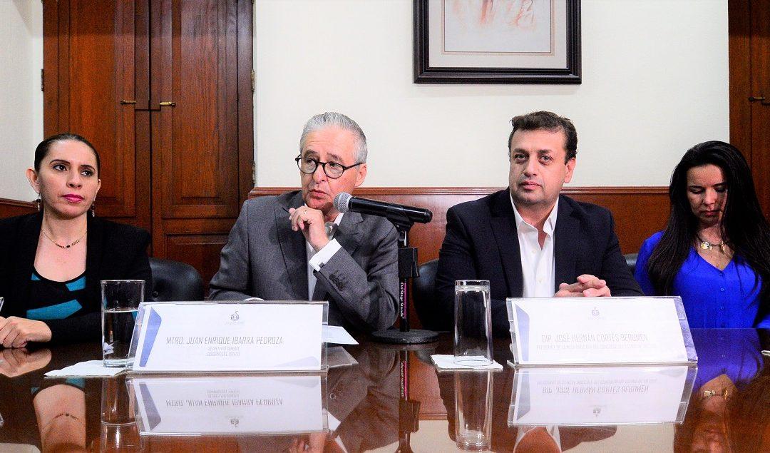 ALFARO SOLICITA RENDIR PRIMER INFORME EN EL CONGRESO DE JALISCO