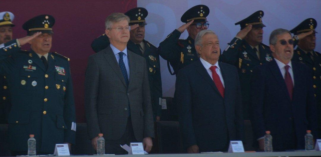 MÉXICO Y ONU INAUGURAN CENTRO PARA OPERACIONES DE PAZ
