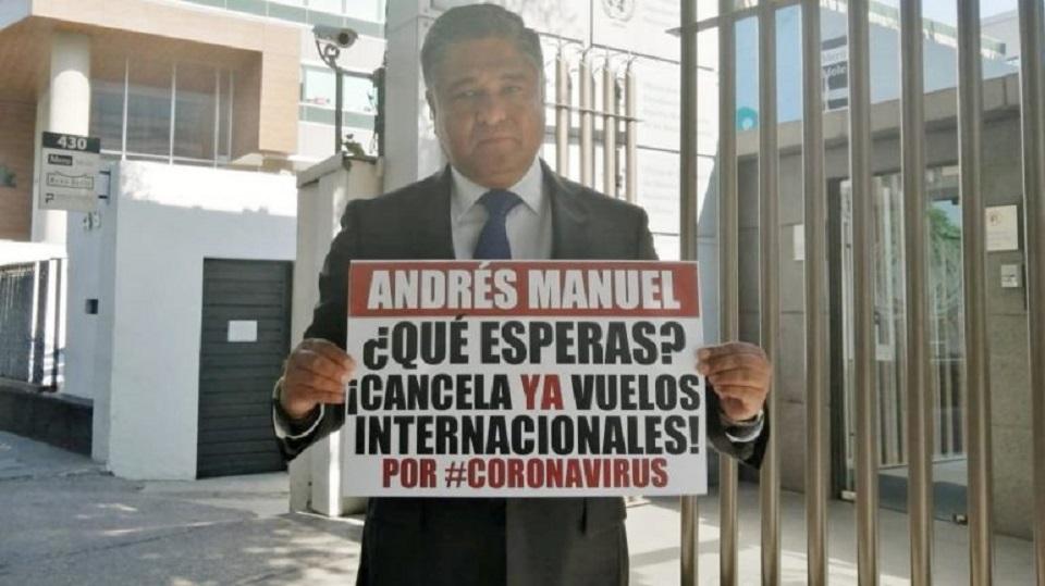 PAN PIDE A ONU INTERVENIR CONTRA MÉXICO POR MAL MANEJO DEL COVID-19