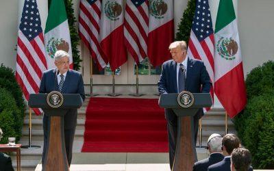 DONALD TRUMP A AMLO: EL PUEBLO MEXICANO ES VALIOSO