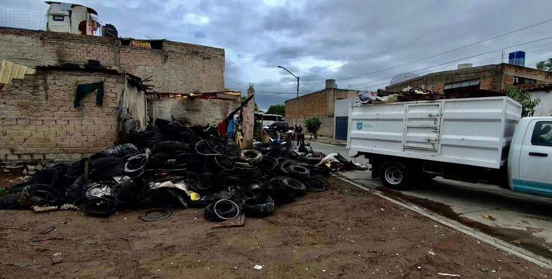 GDL RETIRA MIL 800 TONELADAS DE CACHARROS PARA EVITAR DENGUE