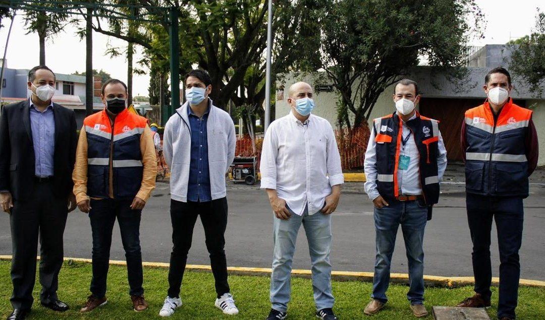 ISMAEL DEL TORO SUPERVISÓ TRABAJOS DE RENOVACIÓN DE AVENIDA ACUEDUCTO